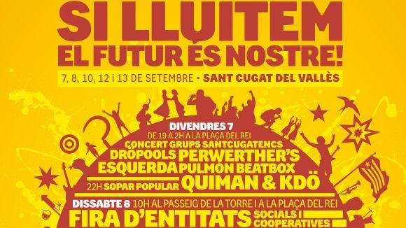 La 1a Festa per la Unitat Popular tanca cartell amb una quinzena d'actes